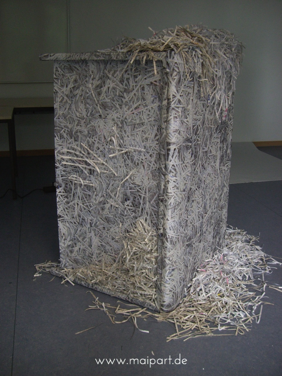Maike Grunwald. Installation: Was wird aus 1989?