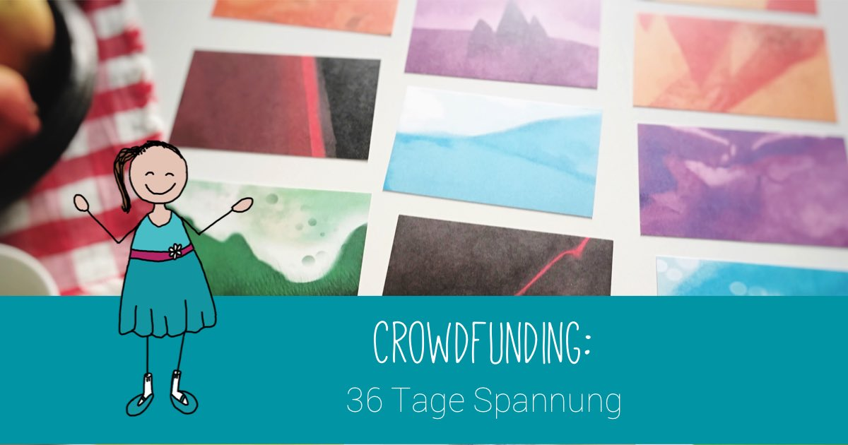 Tag 1 der Crowdfunding-Kampagne