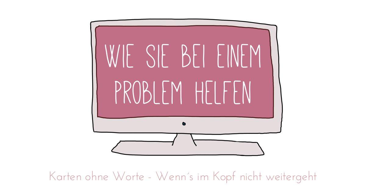 """Maike Grunwald. Ein Video zu den """"Karten ohne Worte""""."""