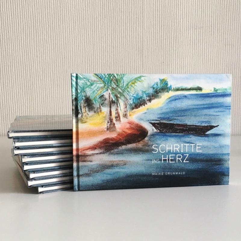 """Bild - Gedichtband """"Schritte ins Herz"""". Kurzurlaub für die Seele"""
